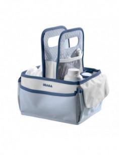 Béaba Panier toilette Nurserie de Mineral en bleu