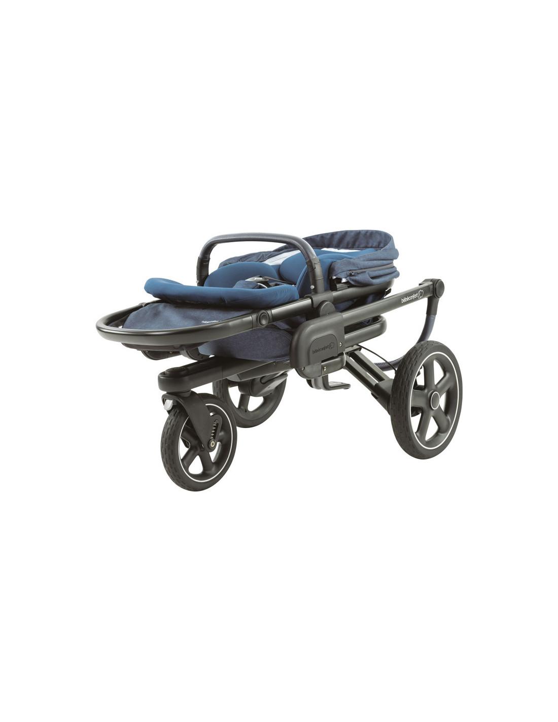 bebe confort poussette tout terrain nova 3 bleu. Black Bedroom Furniture Sets. Home Design Ideas