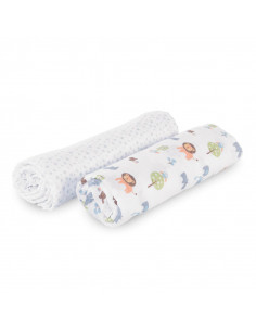 Chicco Lot langes mousseline coton