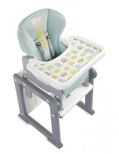 Chaise Haute, Chaise haute Portable Multifonctionnelle 3 en 1, Si/ège Rehausseur pour Enfant, Chaise de Biberon avec Plateau (Bleu