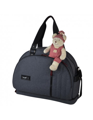 Baby on Board Sac à Langer Weekend Team Smoke