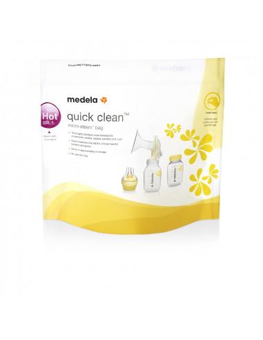 Medela Quick Clean Sachets sterilisation Micro-ondes