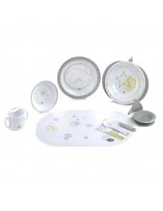 Jané Crockery Set vaisselle avec plat isotherme