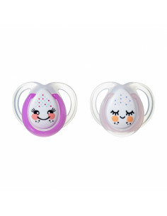 Sucette Nuit en silicone 0-6 m Tommee Tippee