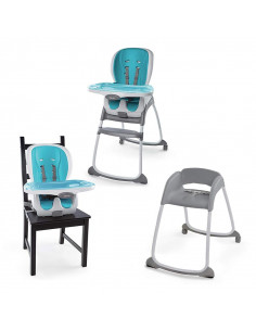 Ingenuity EVA SmartClean Chaise haute 3 en 1