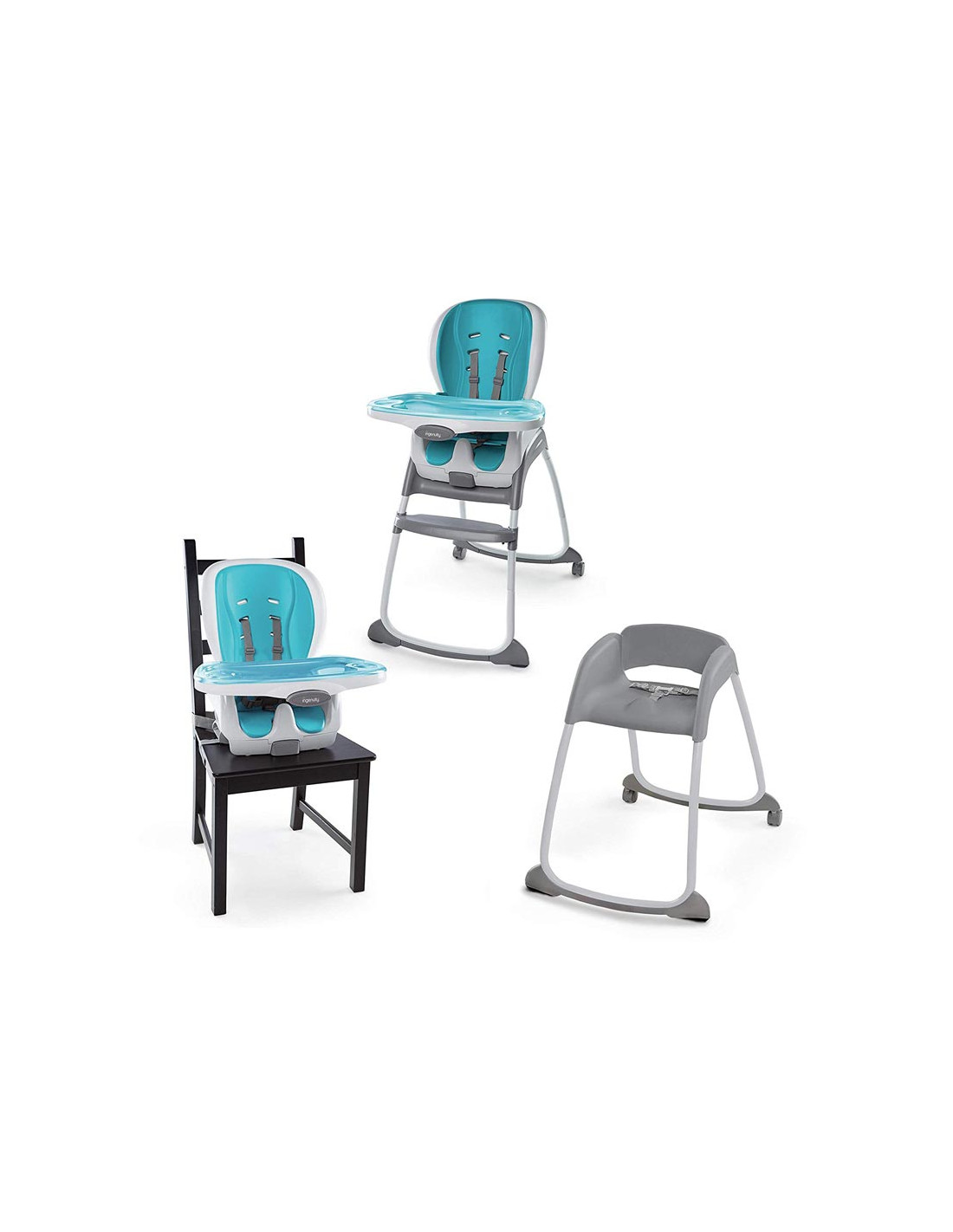 chaise haute 3 en 1 ingenuity eva smartclean. Black Bedroom Furniture Sets. Home Design Ideas