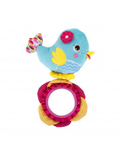 Bright Starts Pretty in Pink Hochet Oiseau