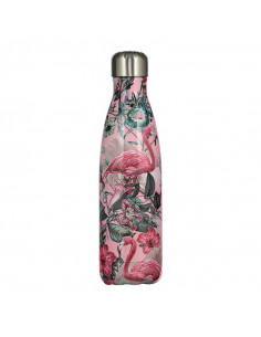 Chillys Tropical Flamingo isotherme Edelstahlflasche