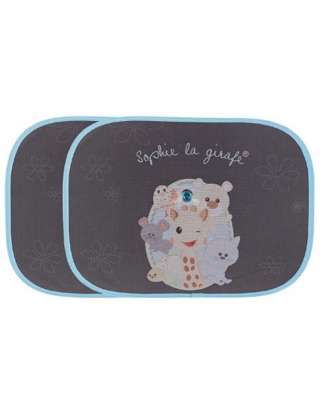 Sophie La Girafe Pare soleil voiture (x2)