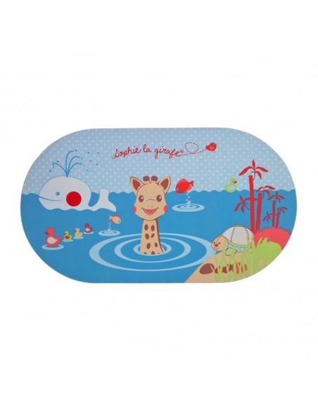 ophie La Girafe Tapis de bain indicateur de température