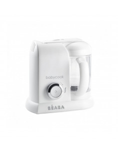 Beaba Babycook Solo White Silver Robot cucina-miscelatore