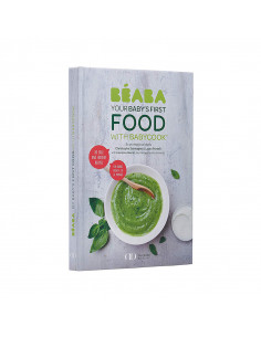 Beaba Livre Babycook book My first meal Version anglais