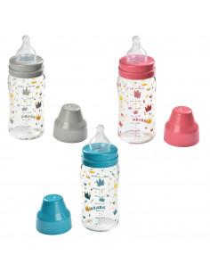 Béaba Glas Babyflasche mit weitem Hals 240ml