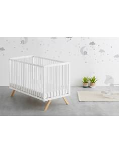 Lit bébé Cododo NURU de Mandarina 120 x 60 cm