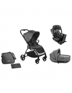 Be Cool Outback Crib One trio poussette avec base isofix