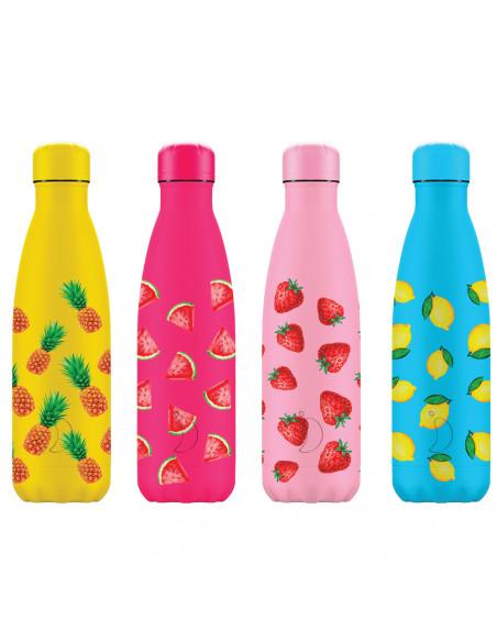 Chillys Summer Bottiglia isotermica acciaio inossidabile