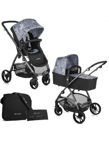 Be Cool Slide Top Plus landau poussette 2 en 1
