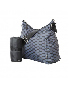 OiOi Hobo Charcoal Eclipse Sac à langer