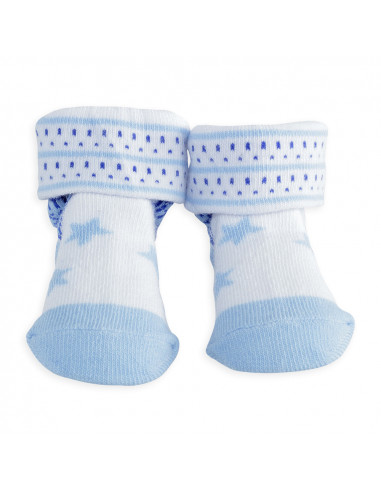 Trois Kilos Sept - blau Socken Stern