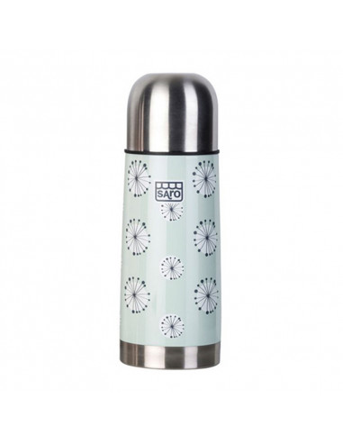 Thermos liquidi Inox Saro 350 ml verde aqua