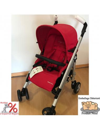Bébé Confort châssis Loola avec assise Streety Plus en rouge