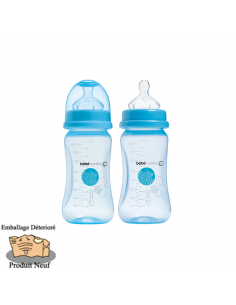 Bébé Confort Lot de 2 Biberons Maternity 270 ml