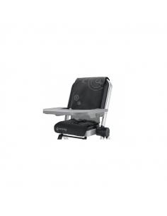 Concord Spin Raven Black noir habillage chaise haute