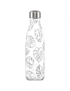 Chilly's Line Art 500ml Bouteille isotherme en acier inoxydable