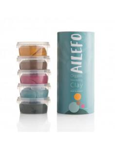 Ailefo - organische Knete - 5x160g