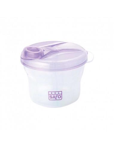 Saro Boîte doseuse de lait Bébé, 3 sections