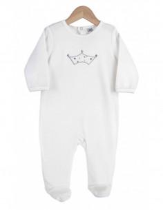 Trois Kilos Sept - Pyjama velours - 12M