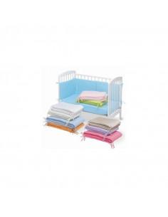 Babynestchen fürs Kinderbett von Pirulos in rosa