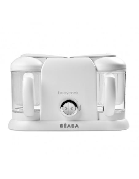 Dampfgarer und Mixer Modell Babycook Duo von Béaba in white-silver