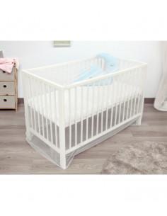Moustiquaire Lit bébé de Kiokids en blanc