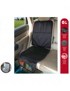Protection de siège auto noire de Kiokids