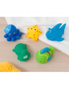 Jouets de bain - 5 petits animaux - Kiokids