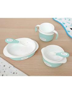 Set vaisselle enfant 5 pièces de Kiokids