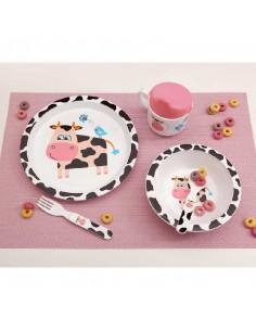 Set Essens-Set 5 Stück Kuh