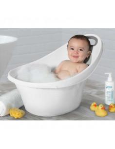 Banheira ergonómica de Bébé branca