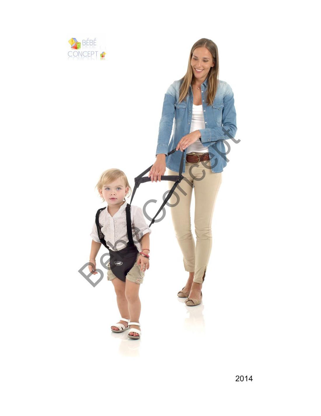 226055b81e180 Harnais de marche Premiers pas avec harnais de sécurité Jané ...