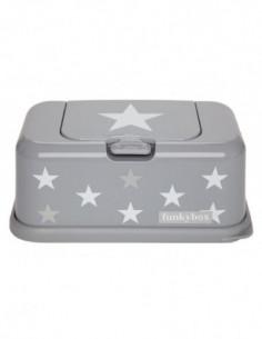 Funkybox boîte à lingettes Argent Etoile