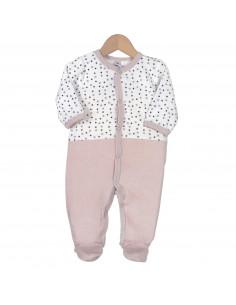 Trois Kilos Sept - Pyjama velours  - 3M
