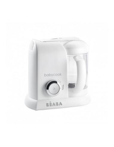 Beaba Babycook Solo White Silver Robot cuiseur-mixeur