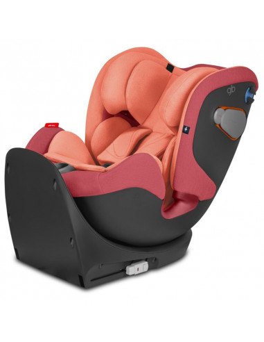 GB Gold Uni-All siège auto évolutif Gr. 0/1/2/3 Rose red red.