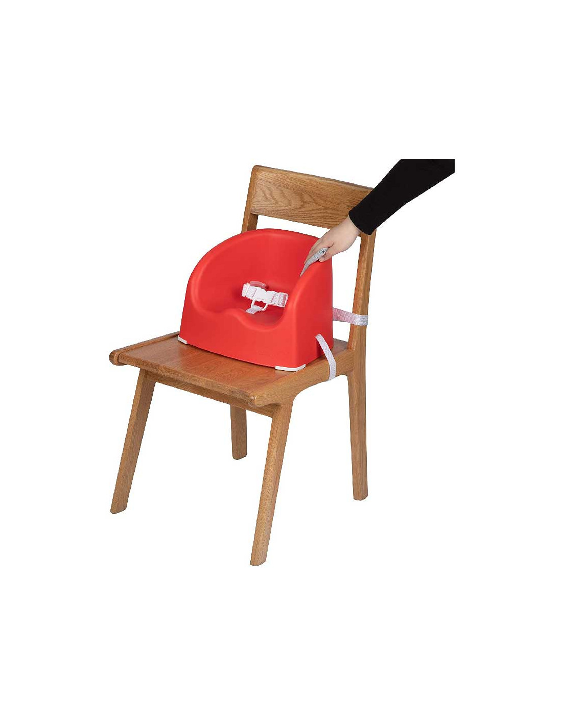 Safety 7st Rehausseur de Chaise Essential Booster Red Lines Le