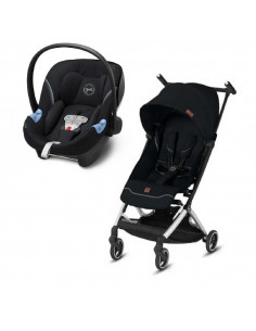 Duo Poussette Goodbaby Pockit+ All-City avec Aton M SensorSafe Cybex