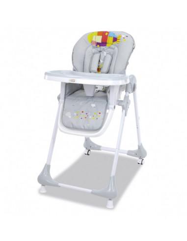 Chaise haute Chef, inclinable et réglable en hauteur